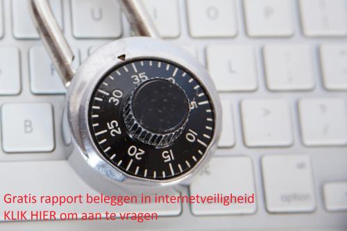 Gratis rapport internetveiligheid